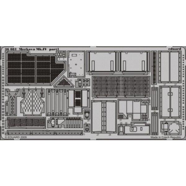 Merkava Mk. IV (pour maquettes Academy)