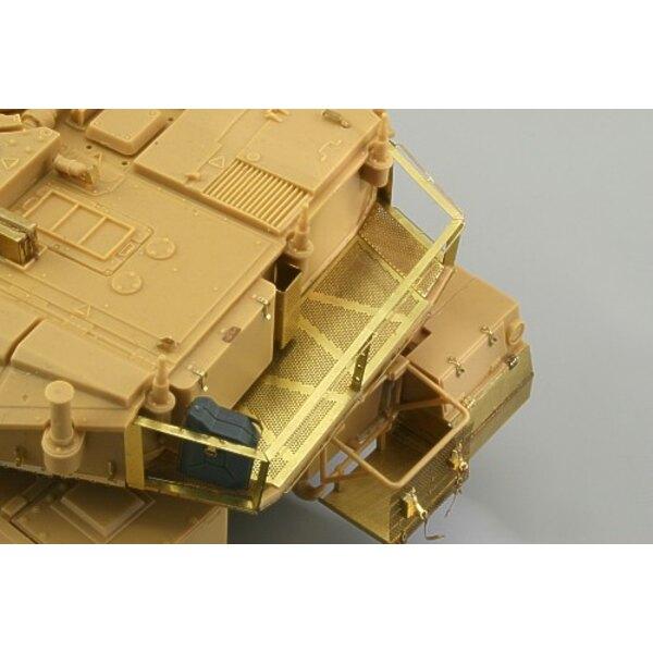 panier de rangement pour Merkava Mk.IV (pour maquettes Academy)
