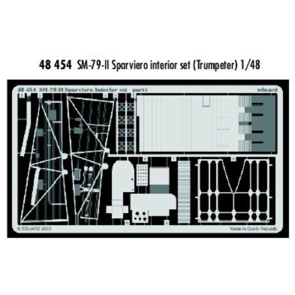 intérieur de Savoia Marchetti SM.79 II (pour maquettes Trumpeter)