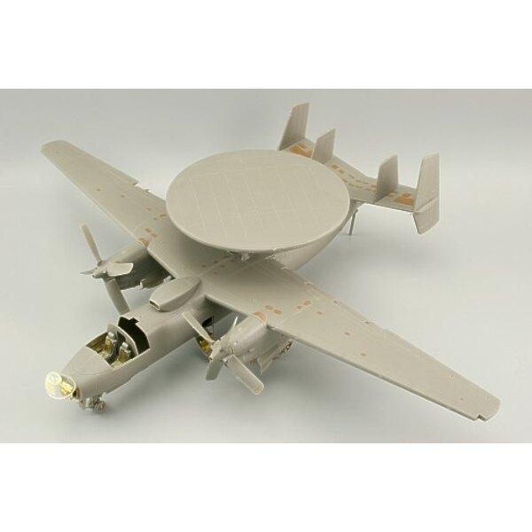 extérieur de Grumman Hawkeye E-2C (pour maquettes Kinetic)