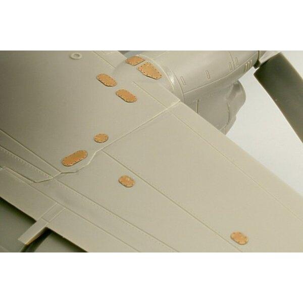 volets de Grumman Hawkeye E-2C (pour maquettes Kinetic)