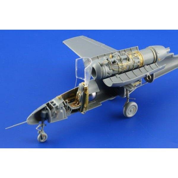 Heinkel He Spatz 162A-2 - pièces pré-peintes en couleur (pour maquettes Tamiya)
