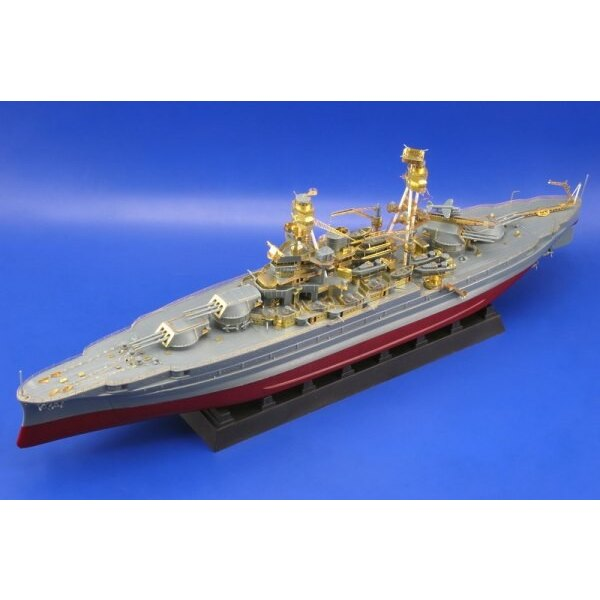 USS Arizona (designed to be assembled with model kits from Mini Hobby Models)