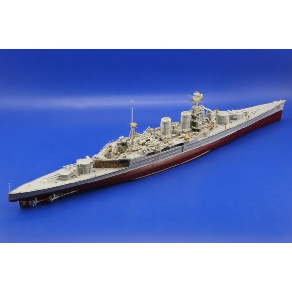 HMS Hood (designed to be assembled with model kits from Trumpeter)