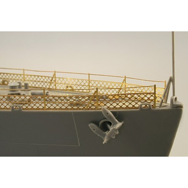 Fletcher 1942 railings (designed to be assembled with model kits from Revell)
