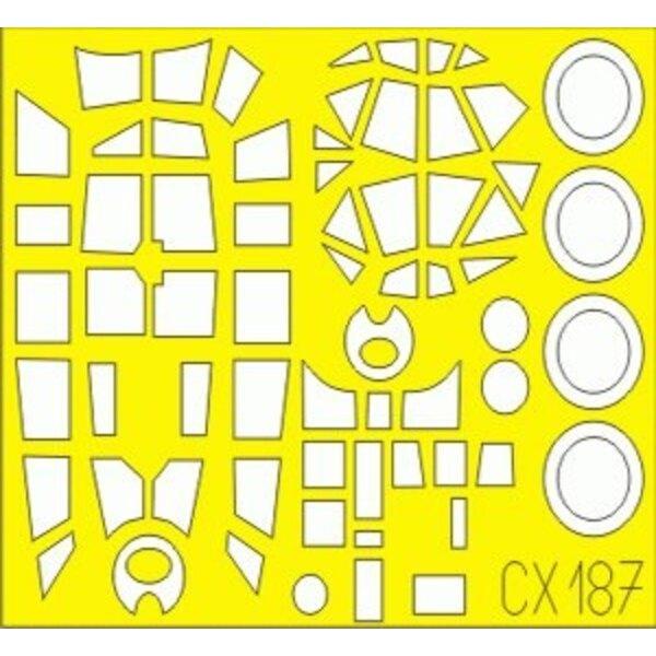 Dornier Do 215 (pour maquettes ICM) (fait de la bande de Kabuki produite de Japonais jaunes)
