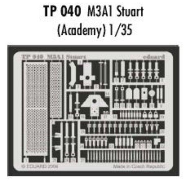 M3A1 Stuart (pour maquettes Academy)