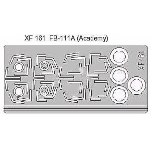 verrière et roues de FB-111A (pour maquettes Academy)