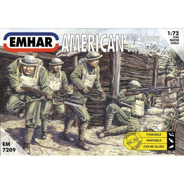 Infanterie 'Sammys' Américains de la 1ère GM