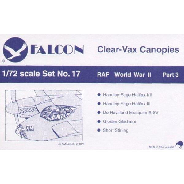 RAF 2ème GM - 3ème partie. Halifax I/II (pour maquettes Matchbox et Revell) Halifax III (pour maquettes Airfix) de Havilland Mos