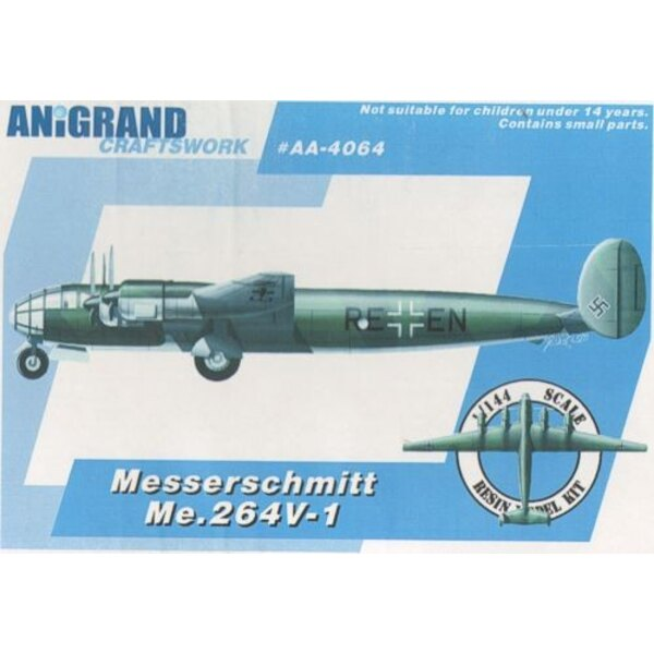 Messerschmitt Me 264V-1 l'Amerika-bombardier a rivalisé avec Junkers Ju 390. Inclut l'avion en prime de Blohm & Voss Bv 155, Blo