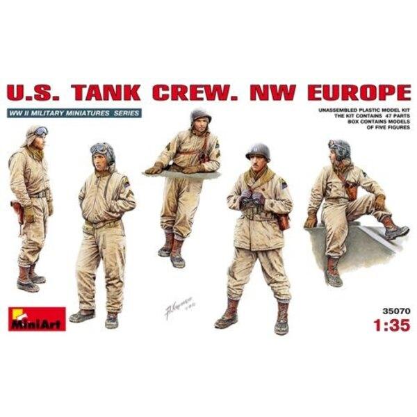 Équipage de char US (Europe de l'Ouest)