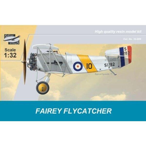 Fairey Flycatcher. Le Fairey Flycatcher était un des premiers avions spécifiquement destinés pour l'opération des porte-avions e