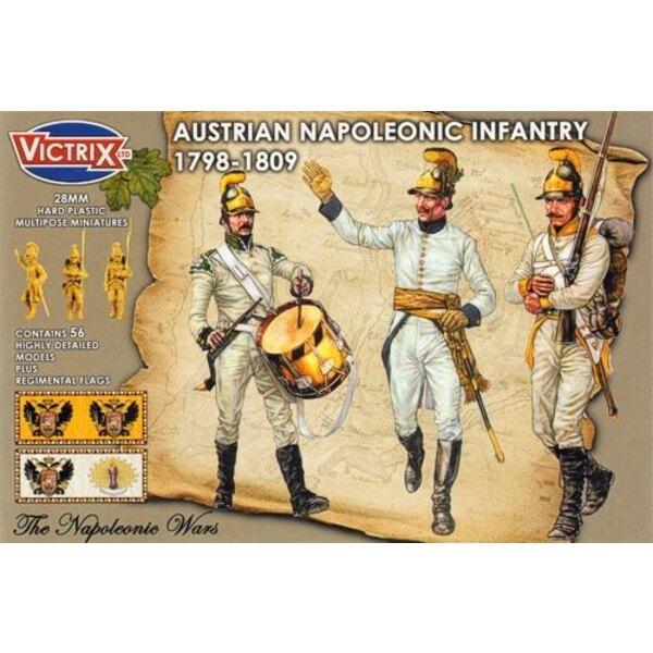 Infanterie autrichienne - époque napoléonienne