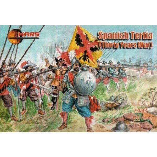 Tertia espagnol, guerre de Trente Ans