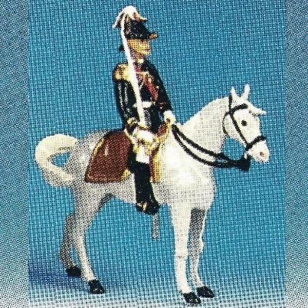 officiers generaux cheval blanc