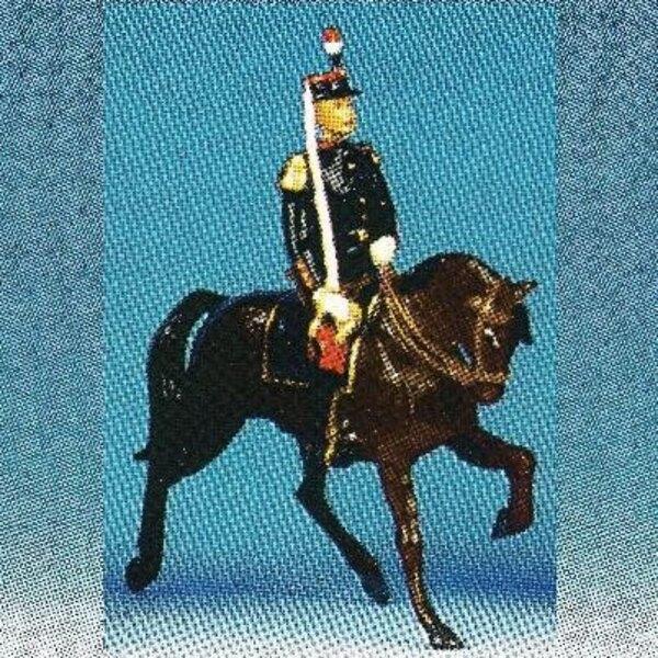 officiers generaux cheval marron