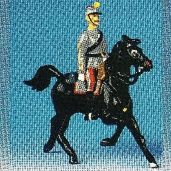officiers generaux cheval noir