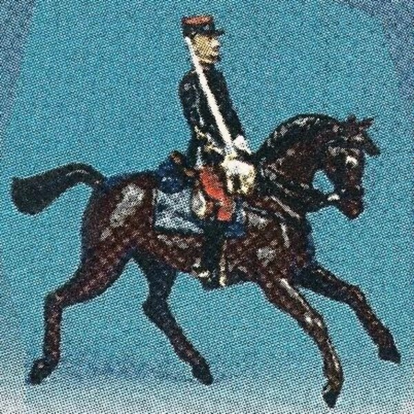 zouave c.rouge off. cheval