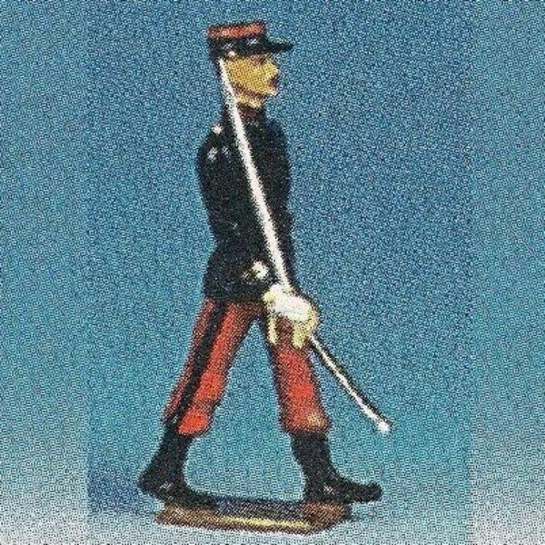 zouave culotte blanc.officier