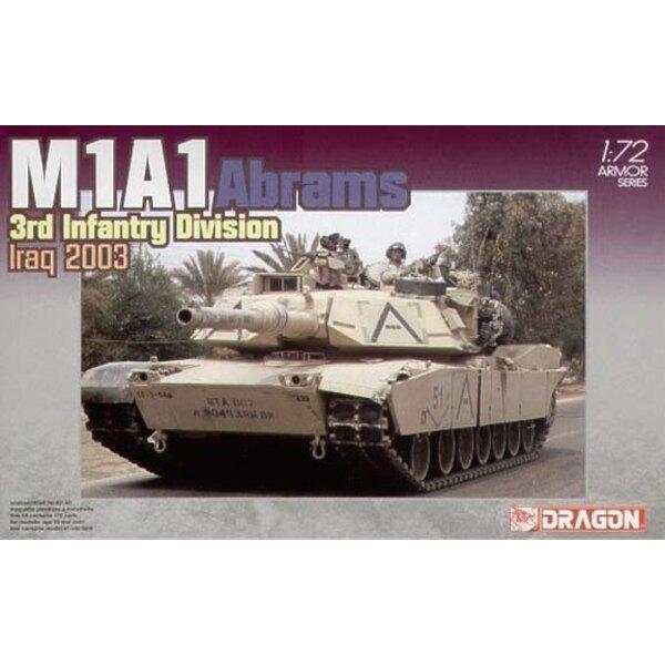 m1a1 abrams irak 2003 1/72