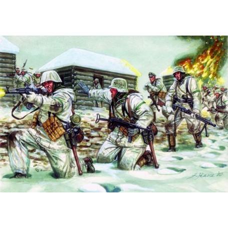 Troupes allemandes de la 2ème GM (uniforme d'hiver)