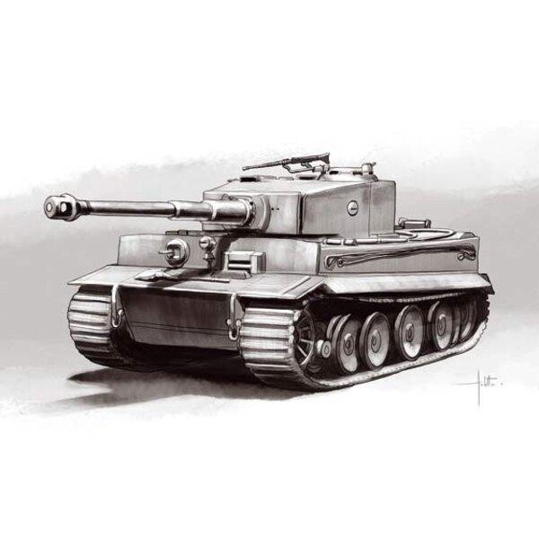 Pz.Kpw.VI Tigre 1 Ausf E production intermédiaire