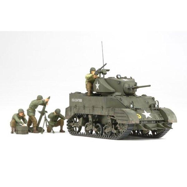 M5A1 avec 4 figurines