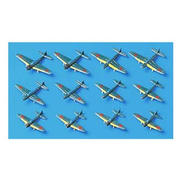 Japanese Navy Planes 1:700