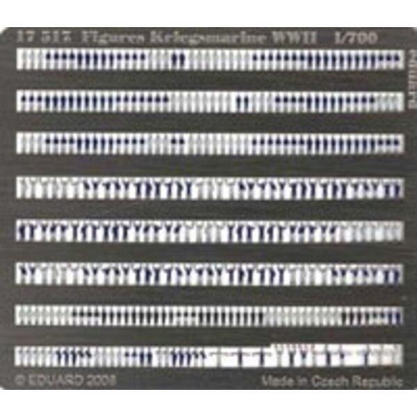 Figures Kriegsmarine WWII (self adhesive) 1:700