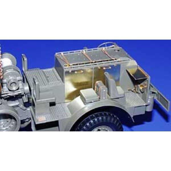 Intérieur de M26 Véhicule de réparation blindé Dragon Wagon (pour maquettes Tamiya)
