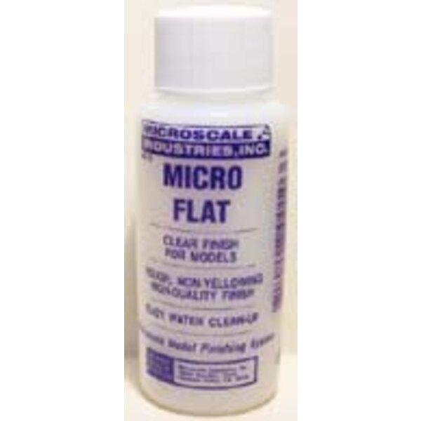 Micro Flat. Vernis à base d'eau