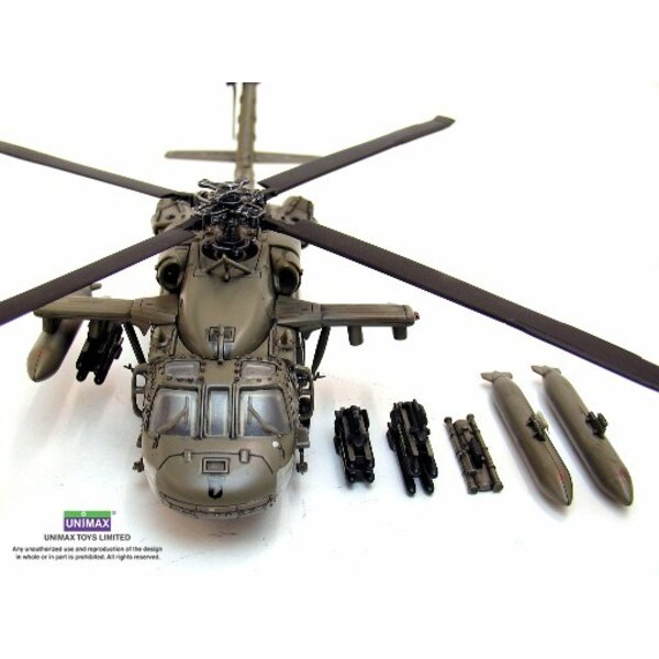 UH-60 Black Hawk helico 1/48