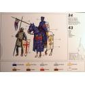 Chevaliers Croisés du Xième siècle