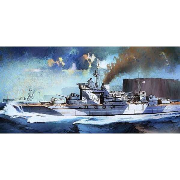 HMS Warspite. Queen Elizabeth Battleship