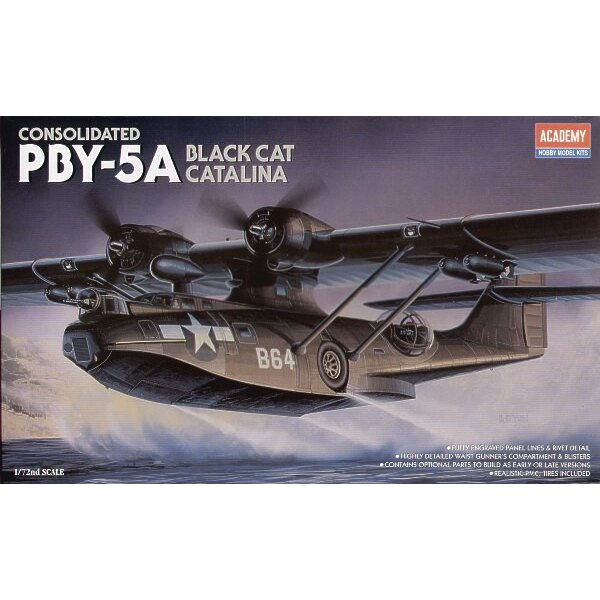 Consolidated PBY-5A Catalina Black Cat / hydravion