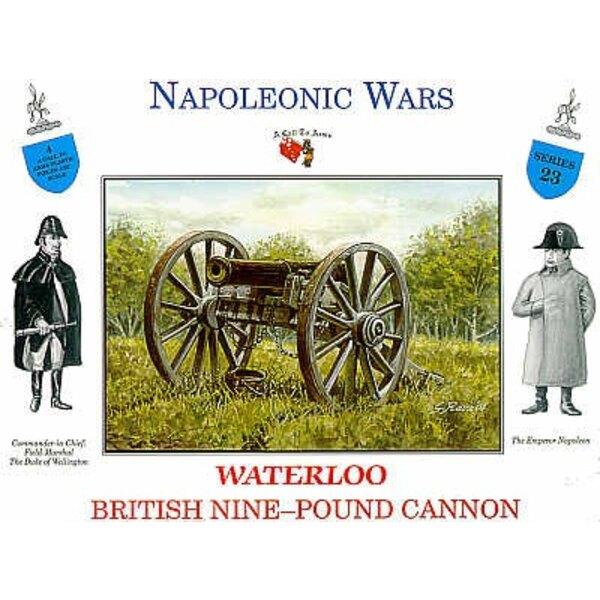 1 x British 9lb cannon