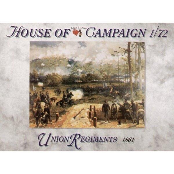 Union Regiments 1861