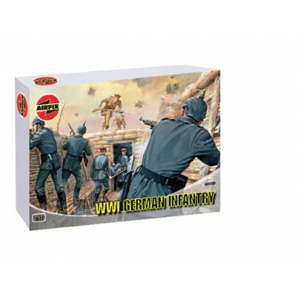 Infanterie allemande de 1ère GM