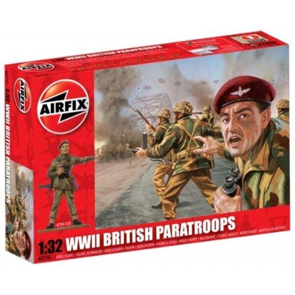 Parachutistes britannique de la 2ème GM