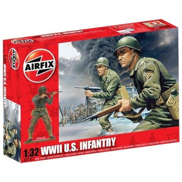 Infanterie US de la 2ème GM