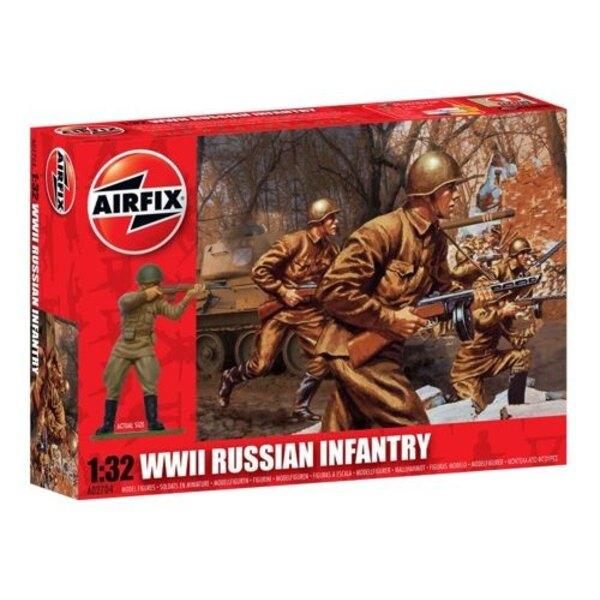 WW2 infantería rusa