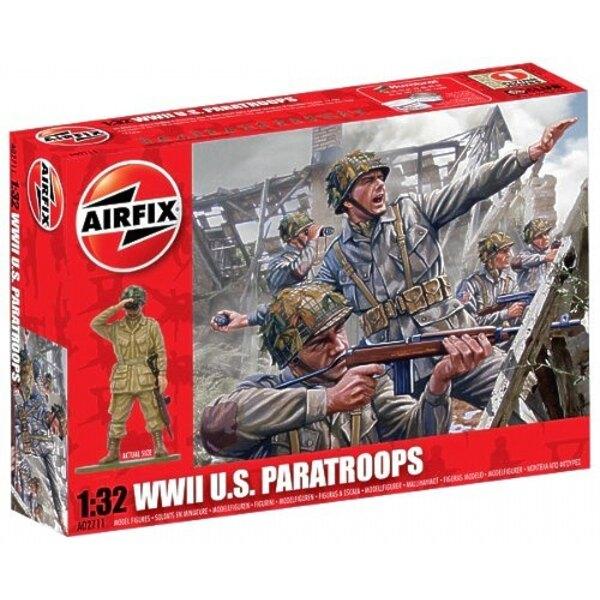 Paracaidistas estadounidenses WW2