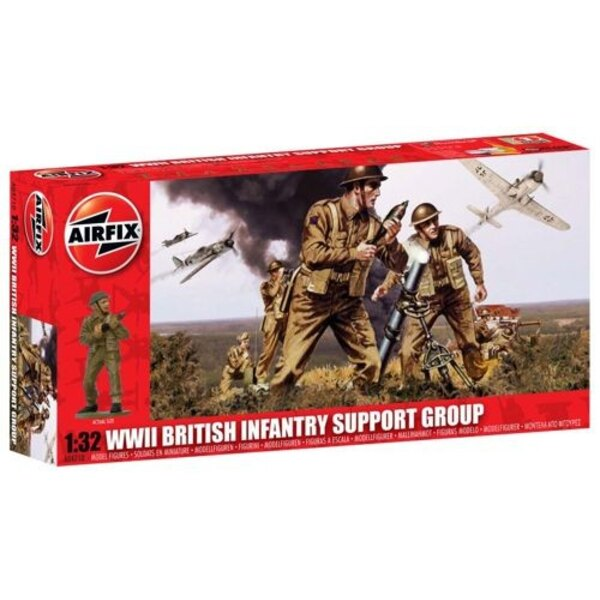 WWII British Infantry Support Group