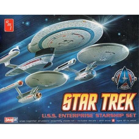 Star Trek U.S.S Enterprise Starship Set maquette à clipser (snap)