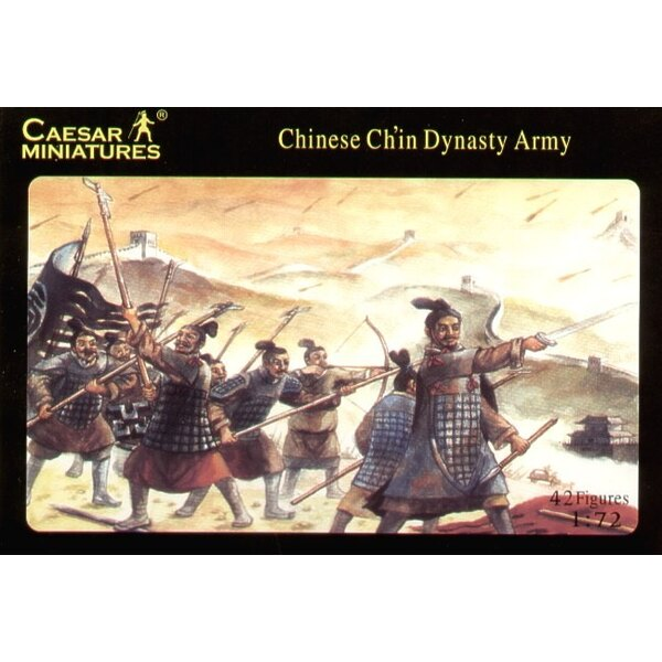 Armée Ch'in chinoise ancienne x 42 figurines