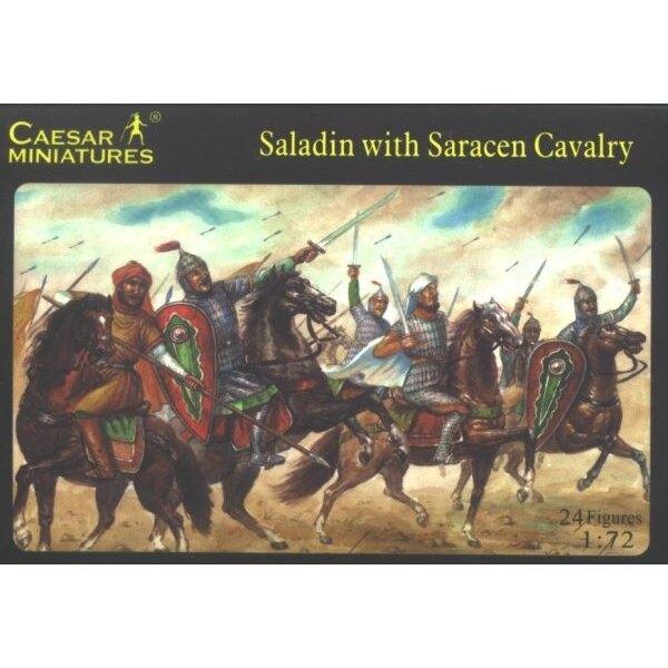 Saladin avec la Cavalerie Sarrasine