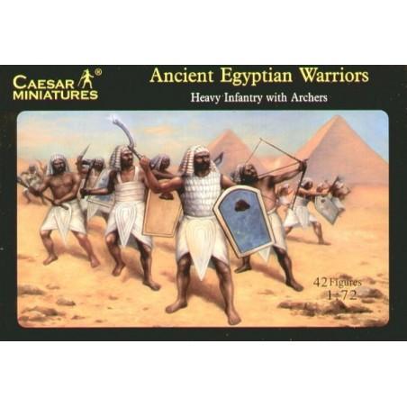Infanterie lourde égyptienne avec Archers