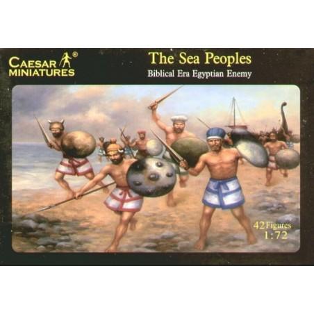 Peuples Marins. Ennemi des Egyptiens de l'ère biblique