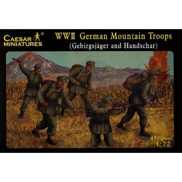 WWII German Mountain Unit Gebirgsjager and Hanschar